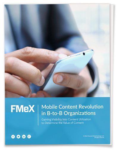Mobile Content Revolution in B-to-B Organizations