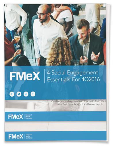 4 Social Engagement Essentials 4Q2016